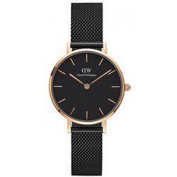 Czarno złoty damski zegarek