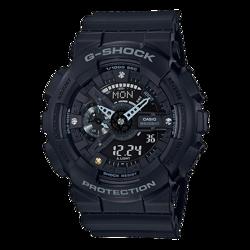Czarny zegarek dla kobiety