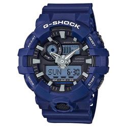 Niebieski męski zegarek