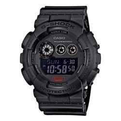 Czarny zegarek dla mężczyzn
