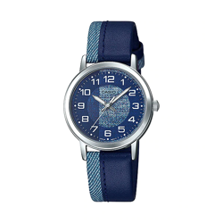 Niebieski kobiecy zegarek