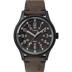 Brązowy zegarek męski