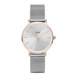 Srebrny zegarek dla kobiety