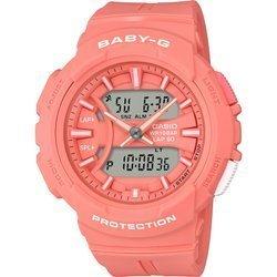 Różowy damski zegarek