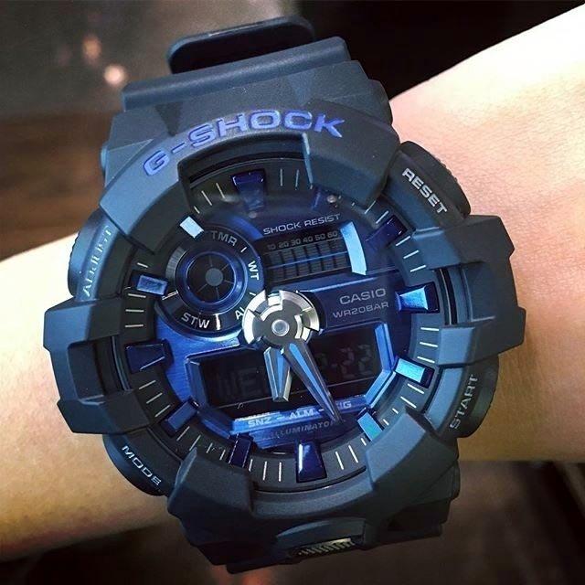 Zegarek Casio G Shock GA 710 1A2