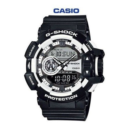 Zegarek Casio G-Shock GA-400-1A Rotary Switch