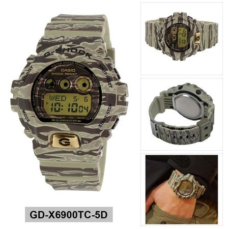 Zegarek Casio G-Shock GD-X6900TC-5